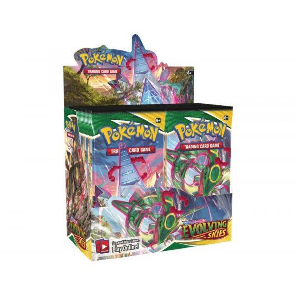 pokemon eb07 evolution celeste une boite de 36 boosters display
